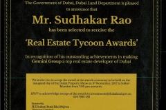 Dubai Land Department Award