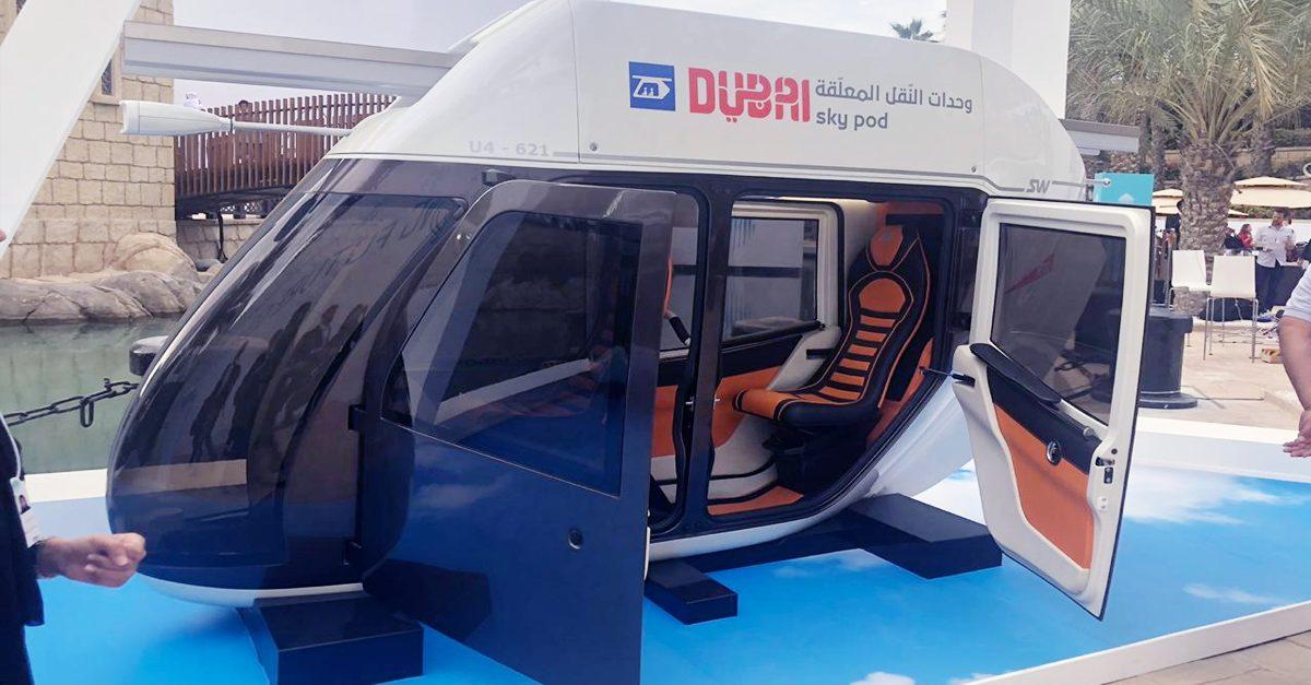 Sky Pods – The next transport innovation in Dubai - Gemini